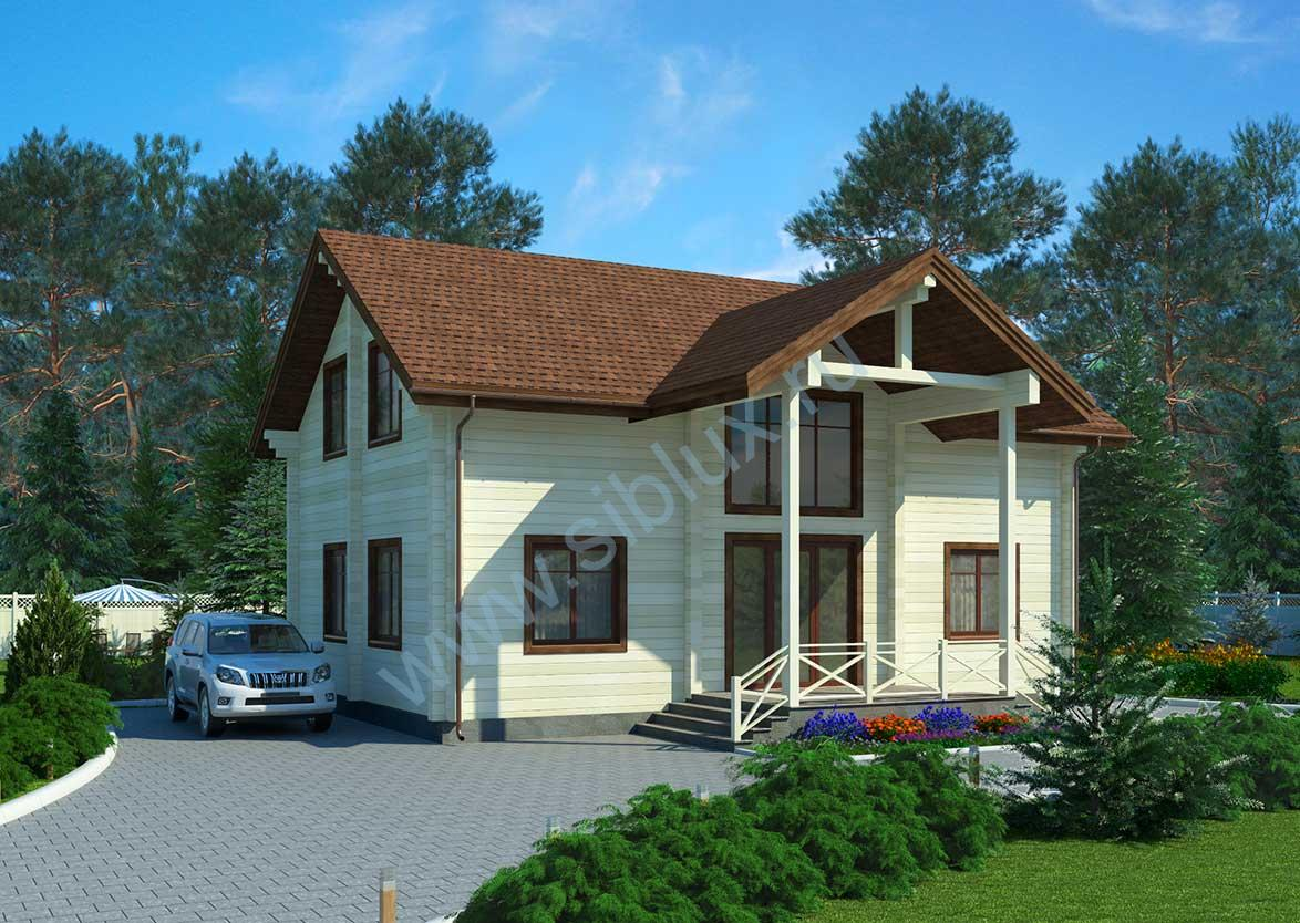 Проект дома в сибири